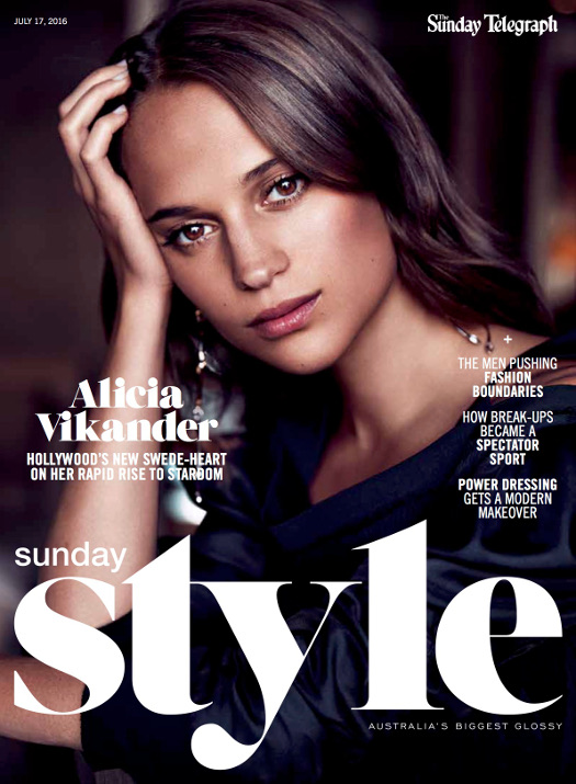 The Sunday Telegraph, Sunday Style, alicia